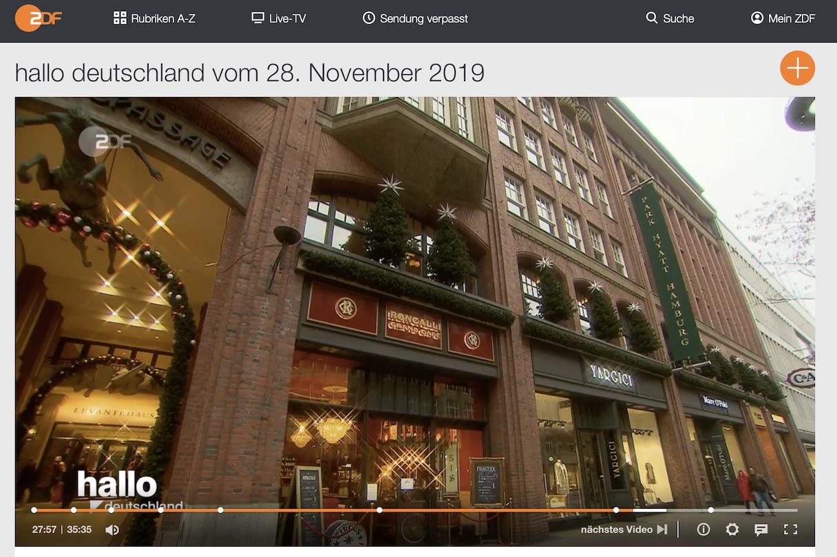 ZDF Mediathek Screenshot
